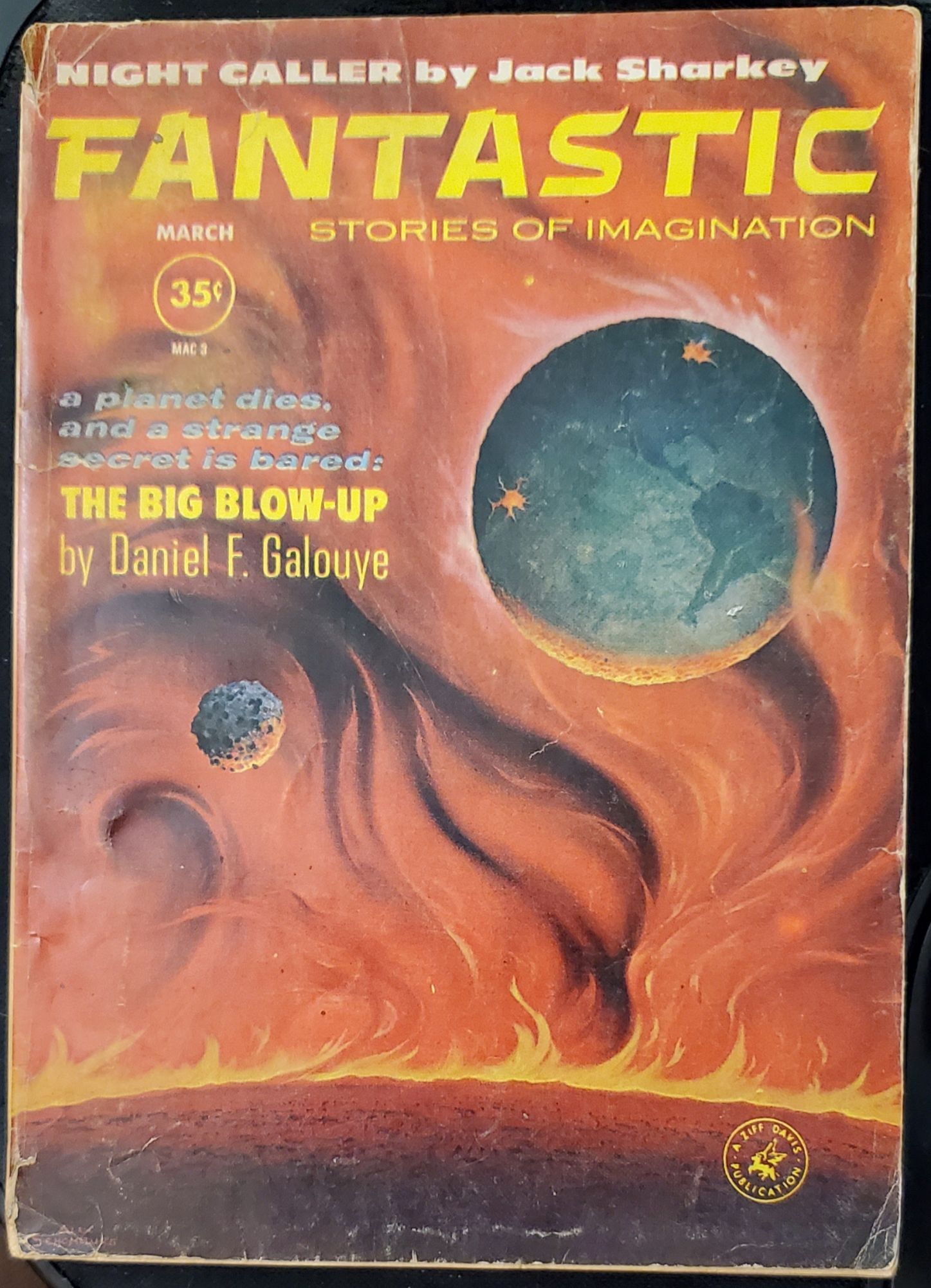 Fantastic Stories of Imagination, 1952& 1961