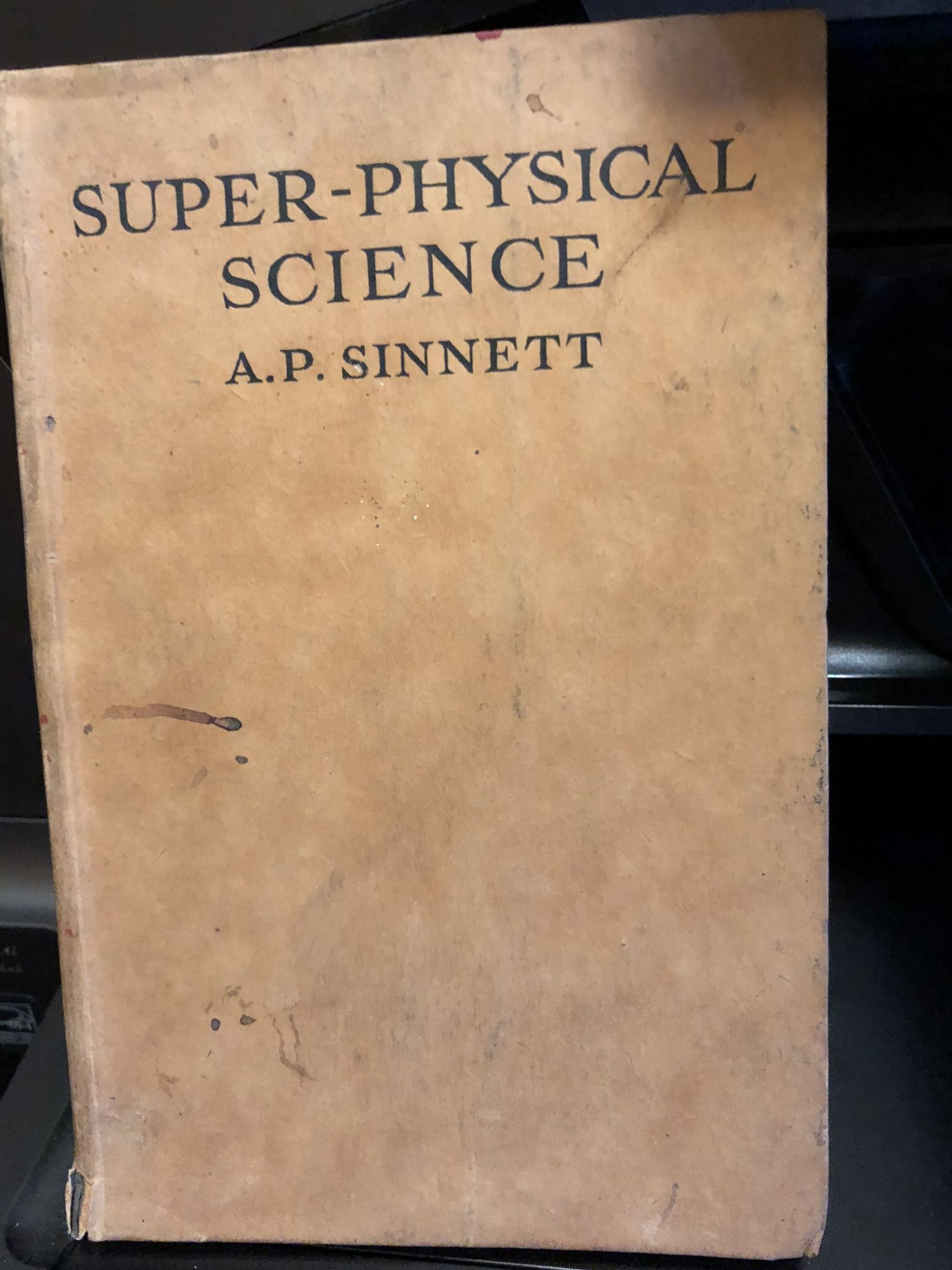 Super-Physical Science