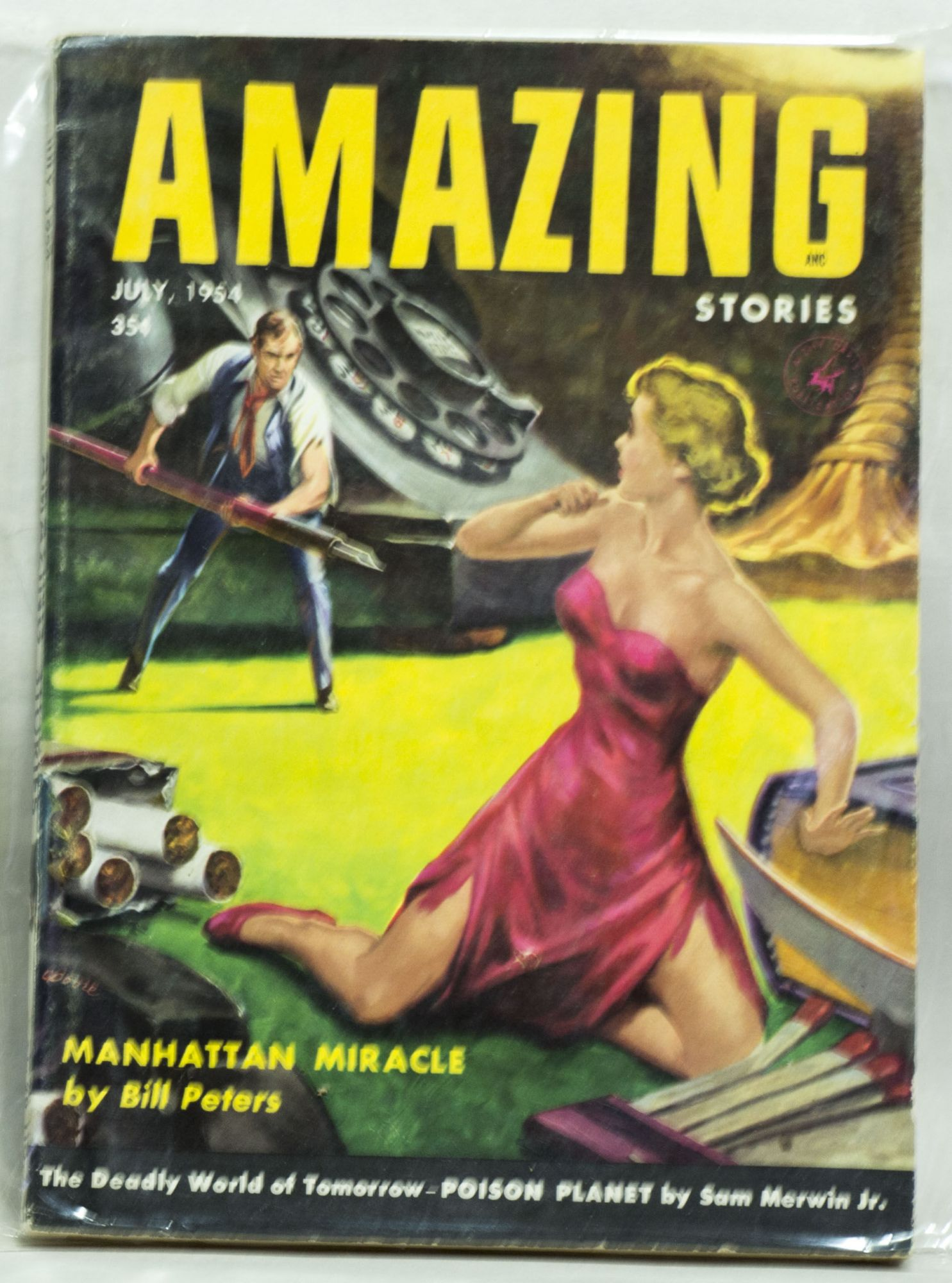 Amazing Stories - July, 1954 - Vol 28 No 3 35¢