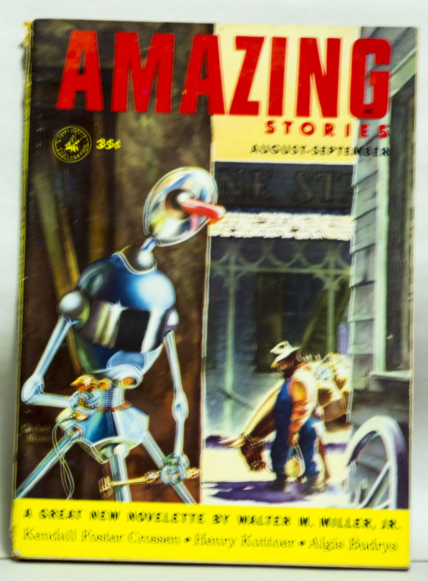 Amazing Stories. August-September 1953 35¢