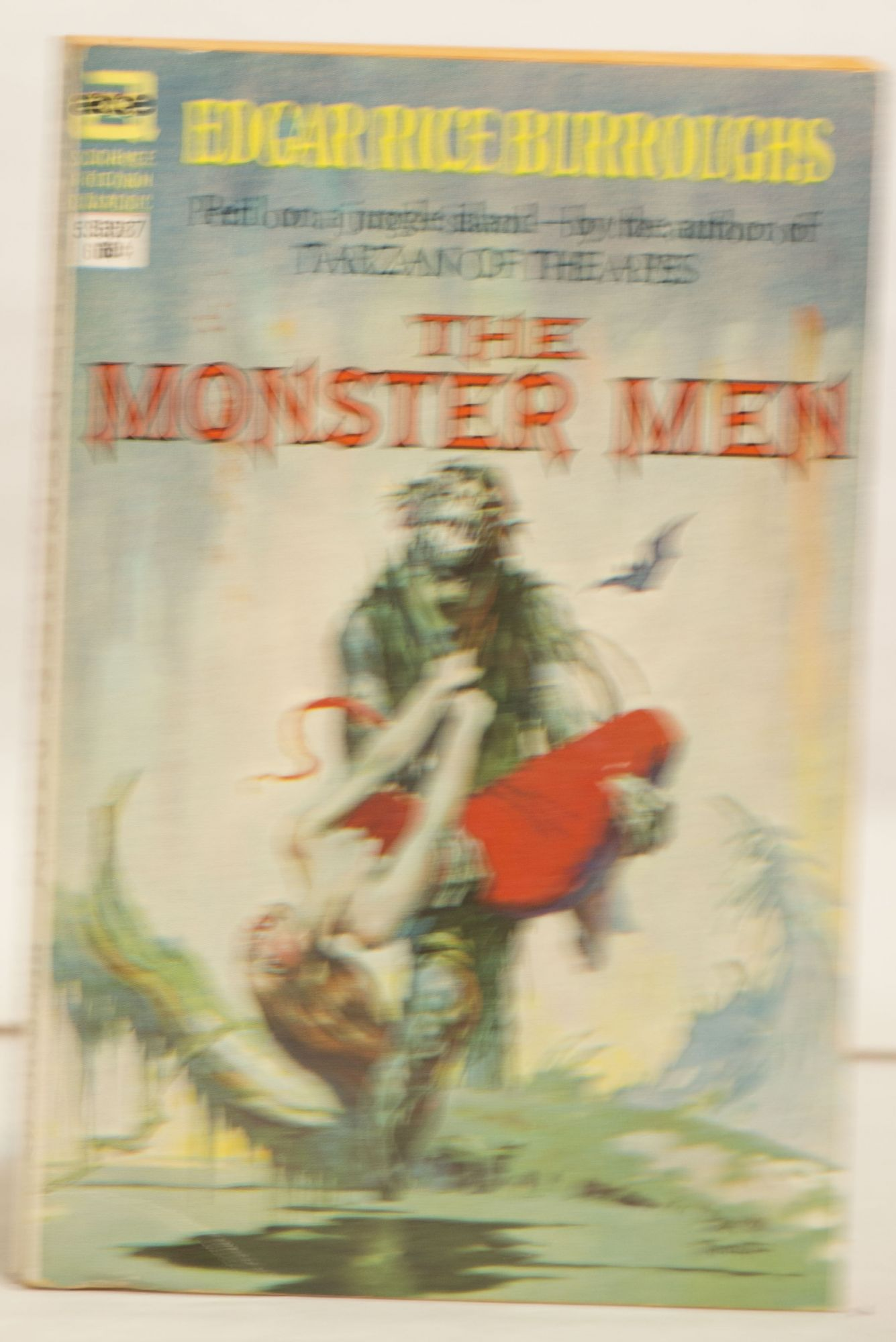 The Monster Men 53587 60¢ Peril on a Jungle Island -- by the Author of Tarzan of the Apes