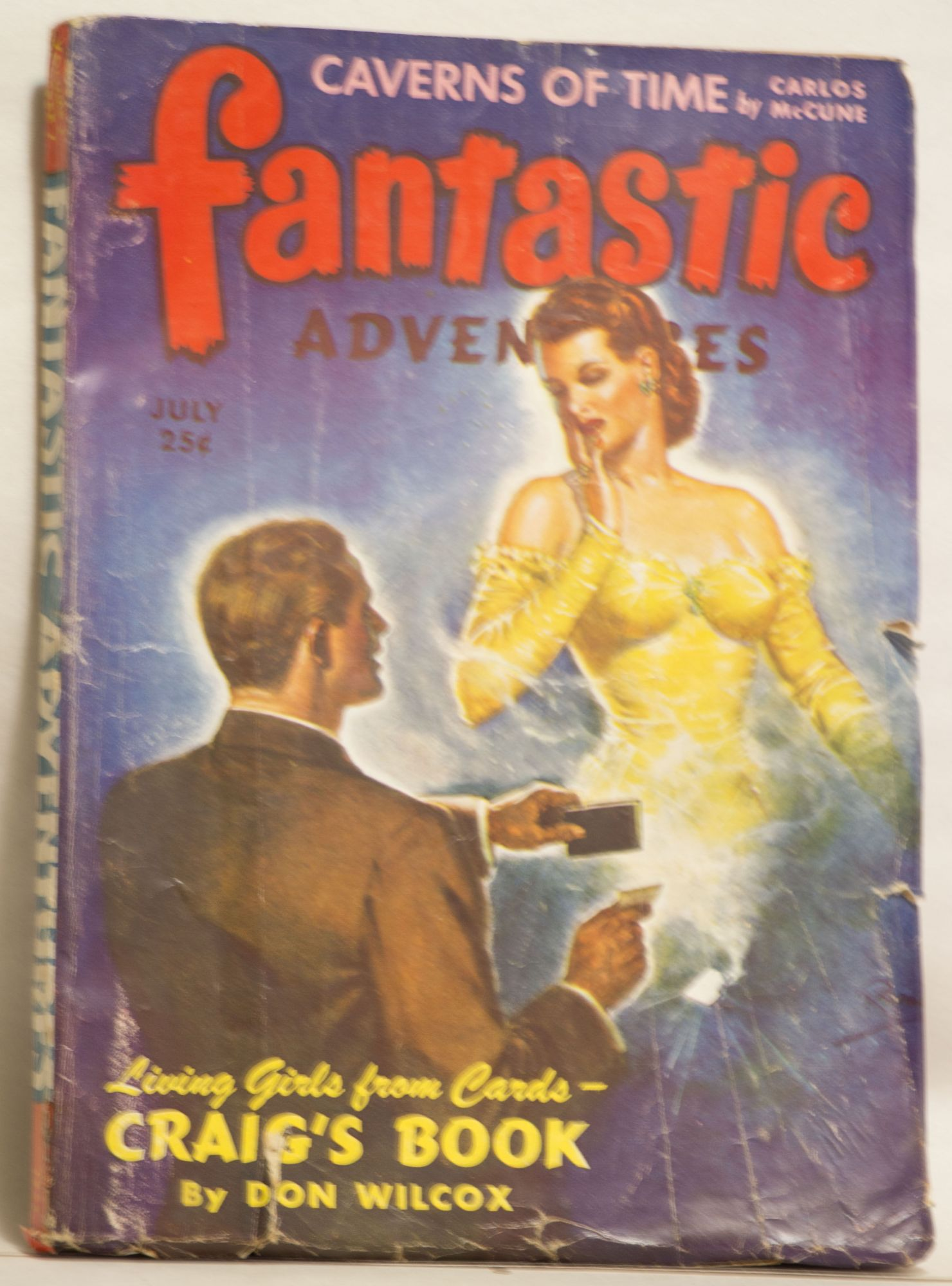 Fantastic Adventures July 1943 25¢ Vol 5. No. 7