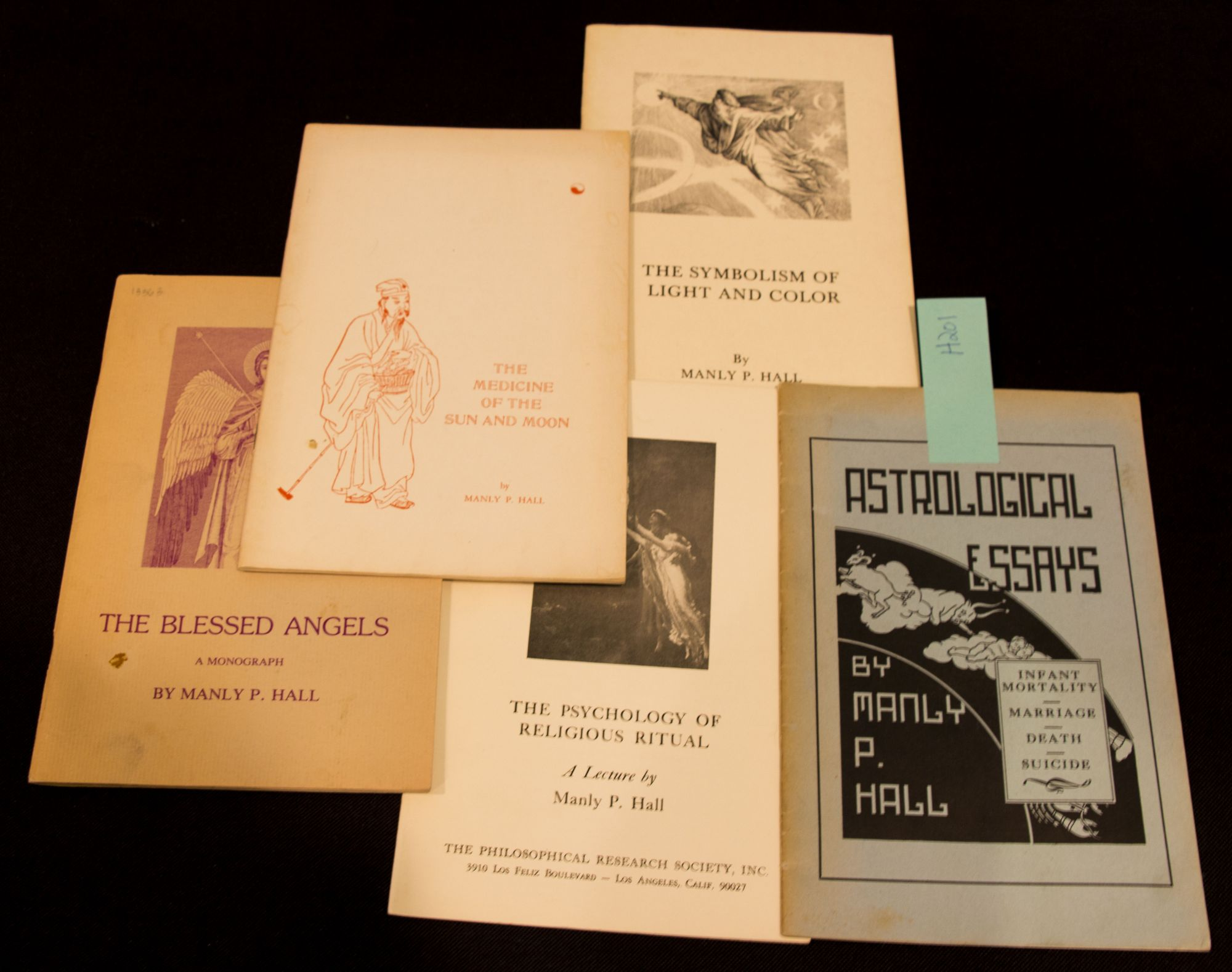 The Blessed Angels; The Psychology of Religious Ritual; The Symbolism of Light and Color; The...