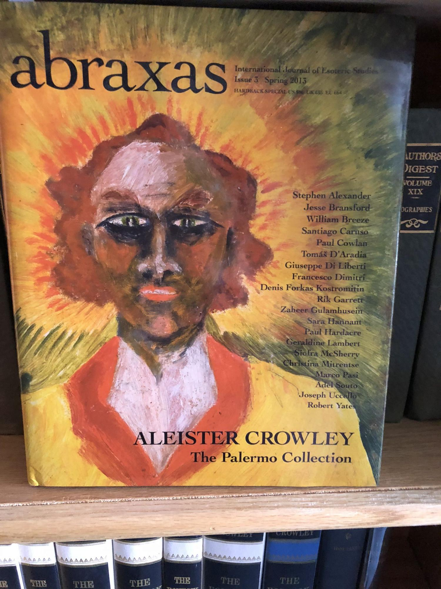 Abraxas Aleister Crowley The Palermo Collection