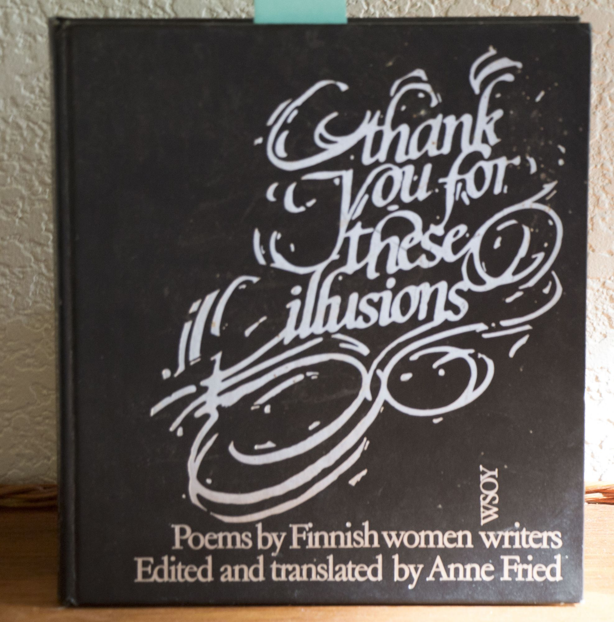 Thank you for these illusions Poems by Finnish women writers