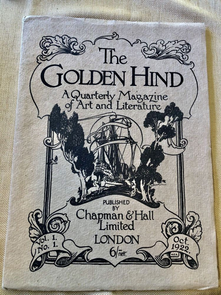 The Golden Hind: A Quarterly Magazine of Art and Literature. Clifford Bax, Austin O. Spare.