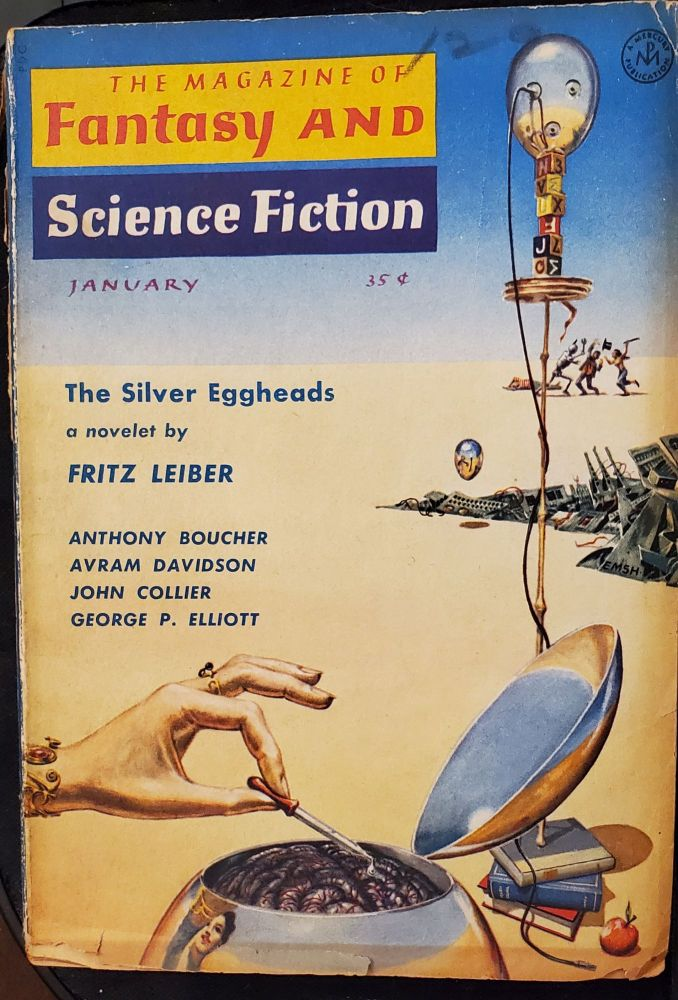 Fantasy and Science Fiction, 1959, 1962 & 1963.