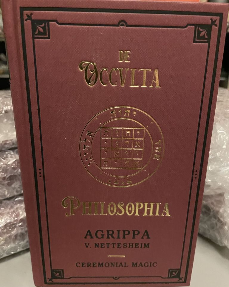 Agrippa - De Occvlta Philosophia. Vol. III - Ceremonial Magic. Translated and, Paul Summers Young.