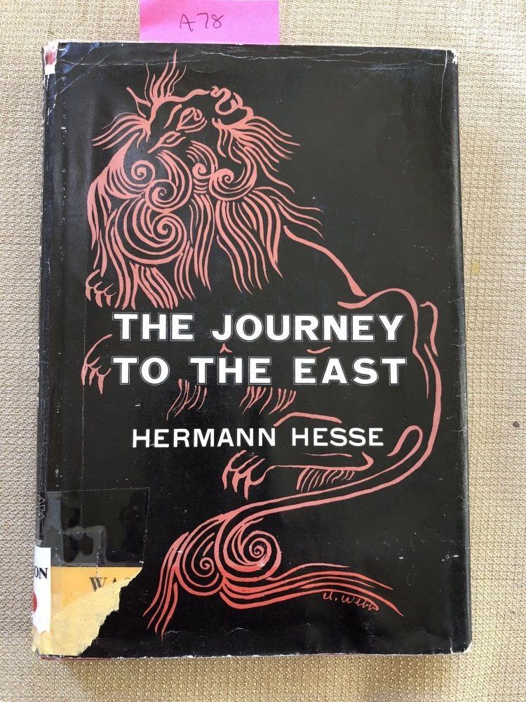 The Journey To The East. Hermann Hesse.