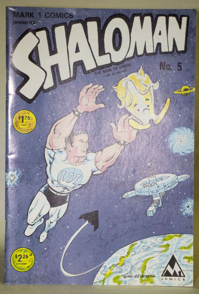 Shaloman, the Man of Stone. Al Wiesner.