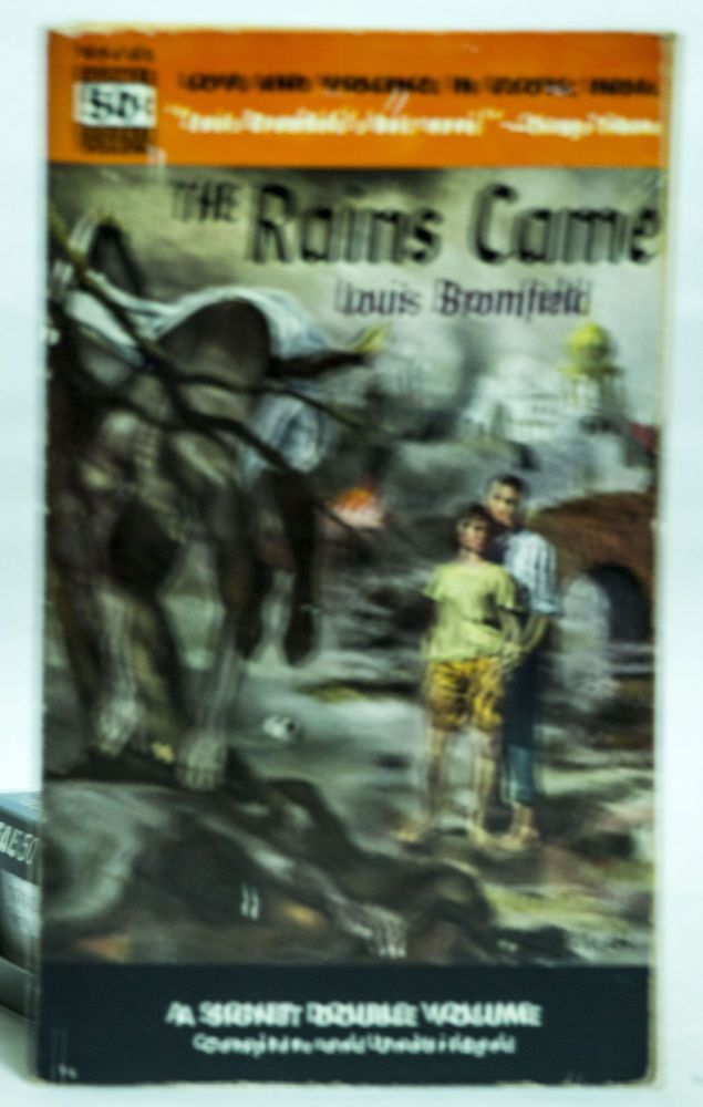 The Rains Came A Signet Double Volume Complete and Unabridged. Louis Broomfield.
