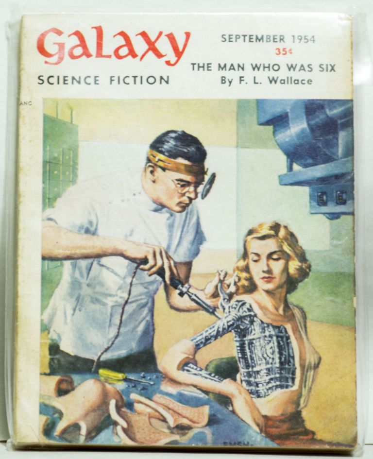 Galaxy Science Fiction 35¢. H. L. Gold.