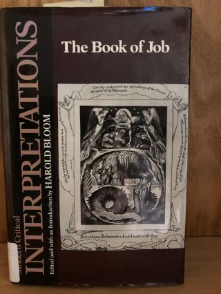 The Book of Job. BLoom Harold