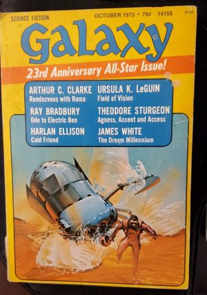 Galaxy Science Fiction 1951 & 1973. Authors