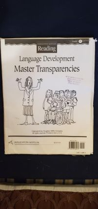 Language Development Master Transparencies. anon