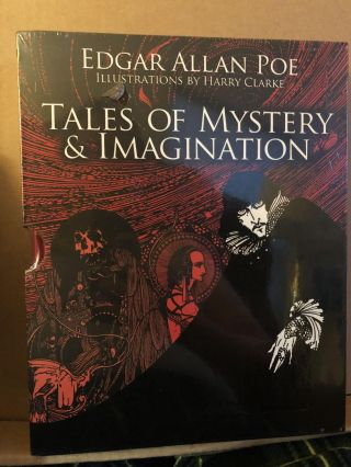 Tales of Mystery & Imagination and Great Tales of Horror, Two Great Books of Horror. Edgar Allan...