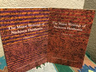The Major Writings of Nichiren Dsishonin Vol 1 &2, Life & Teachings of the Master's of the Far East 1 - 5 volume setHandbook to Higher Consciousness