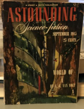 Astounding Science Fiction September 1945. John W. JR Campbell