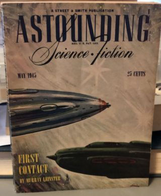 Astouding Science Fiction May 1945. John W. JR Campbell
