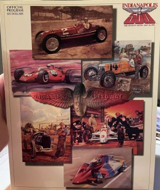 Indianapolis 500 Official Program 1990, 1991, 1992, 1994, 1995, 1997, 2002. anon