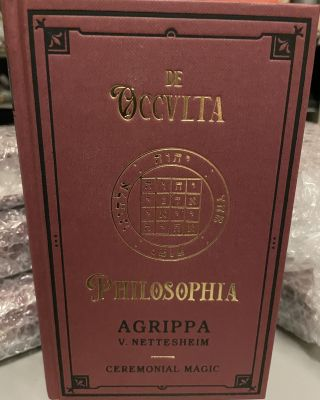 Agrippa - De Occvlta Philosophia. Vol. III - Ceremonial Magic. Translated and, Paul Summers Young