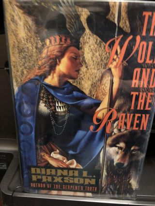 The Wolf and the Raven, the Dragons of the Rhine, the Lord of Horses 3 Volumes. Diana L. Paxson.