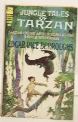 Jungle Tales of Tarzan F-206 40¢ Tarzan of the Apes Challenges the Savage Wilderness. Edgar Rice...
