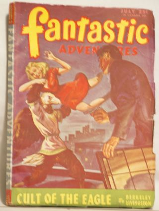 Fantastic Adventures July 1946 Volume 8 Number 3 25¢