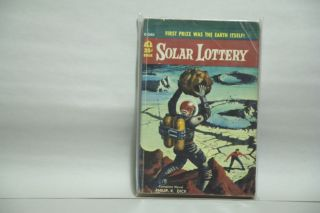 Solar Lottery First Prize Was the Earth Itself! Philip K. Dick.