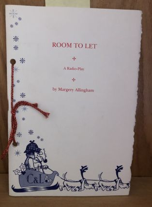 Room To Let. Margery Allingham