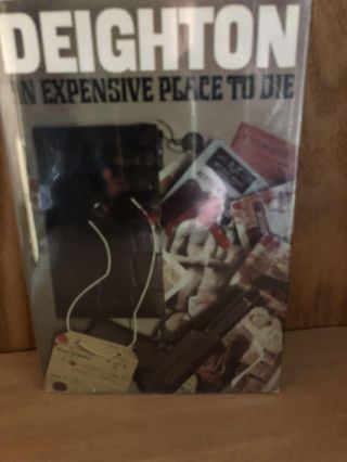 "An Expensive Place to Die ""In Transit Docket"" Len Deighton"